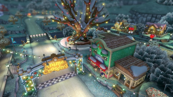mario-kart-8-animal-crossing-tracks-gameplay-screenshot-merry-christmas-winter-wonderland-wii-u
